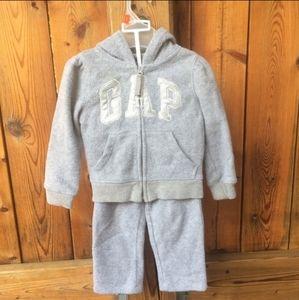 GAP Gray Jogging Suit 2T